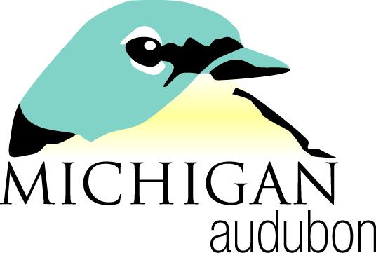 Michigan Audubon logo - Kirtland's Warbler